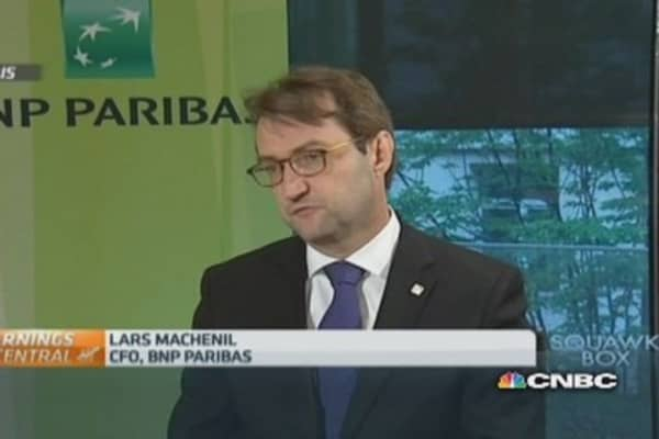 Results 'bode well' for future of BNP Paribas: CFO