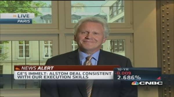 GE CEO confident Alstrom deal will go through