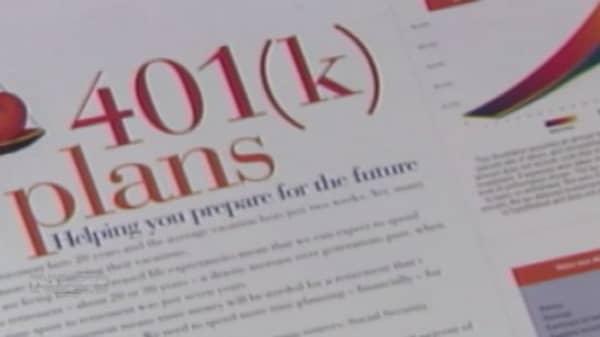 Improving retirement outlook