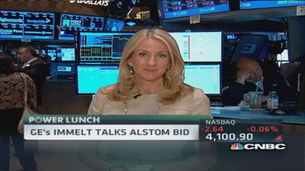 GE's Immelt: Alstom deal will be executed