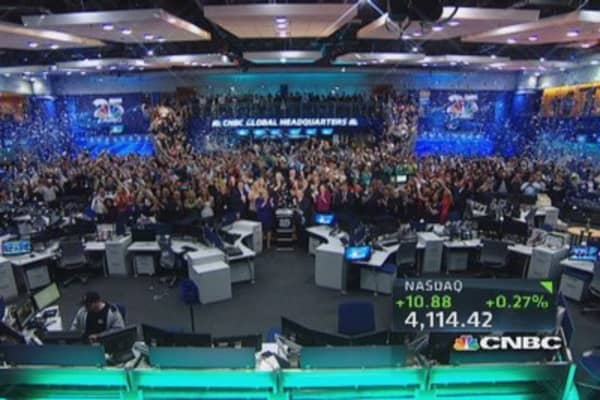 CNBC rings the closing bell