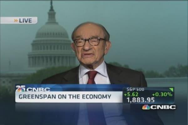 Greenspan's biggest regret