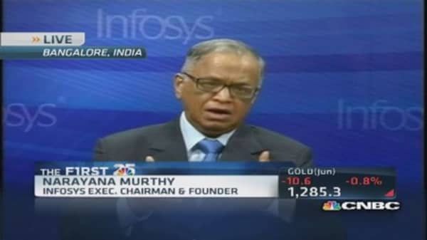 Future bright for software services industry: Infosys CEO