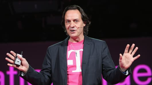 John Legere, CEO and president of T-Mobile USA.
