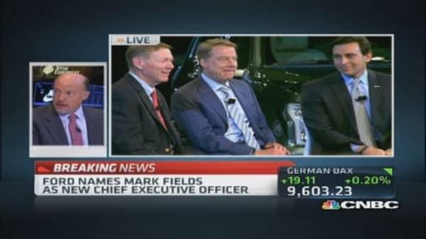 Cramer on Ford's big CEO headlines