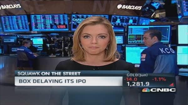 Box IPO delay