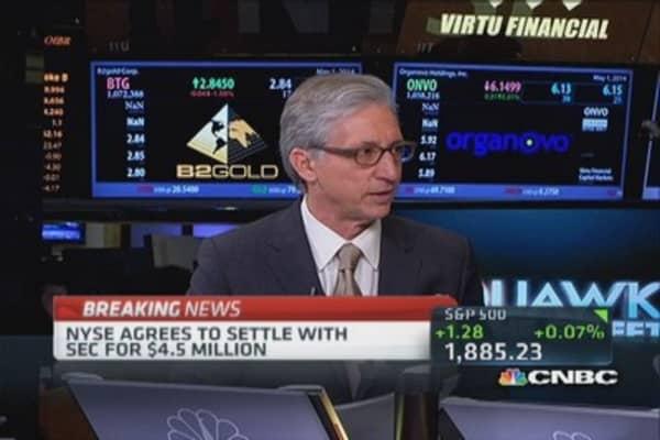 SEC fines NYSE $4.5 million