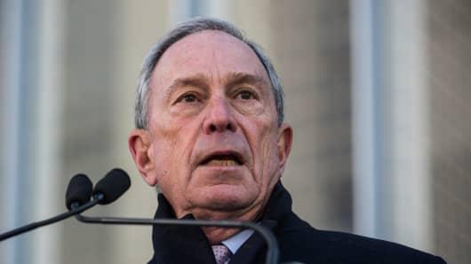 Michael Bloomberg, former New York City mayor.