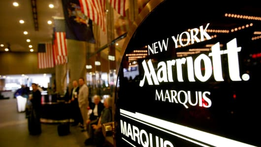 Marriott Marquis hotel in New York