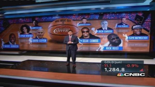 Oprah, Geffen, Ellison rumored interest in Clippers
