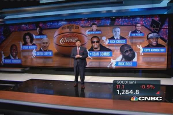 Oprah, Geffen, Ellison rumored interest in Clippers