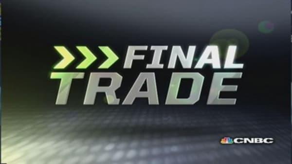 Fast Money Final Trade:  GOOG, BKW, EWG, NUE