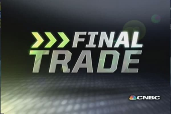 Fast Money Final Trade:  GOOG, BKW, EWG, NUE