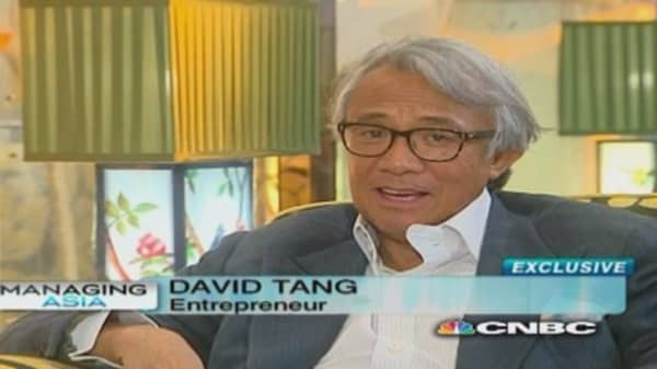 What is David Tang's 'next big thing'?