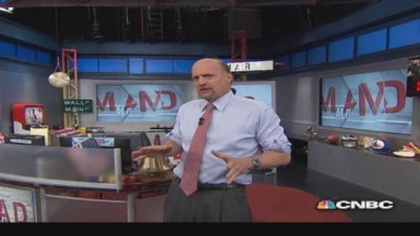 Cramer: Momentum vs. safety stocks