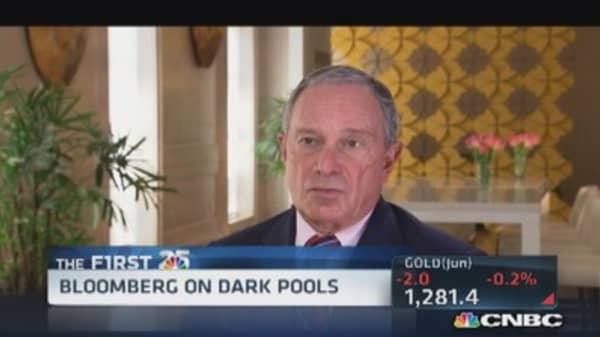 Bloomberg's perception of Wall Street