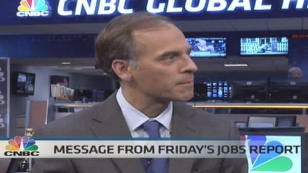 Mark Zandi's view of the jobs report