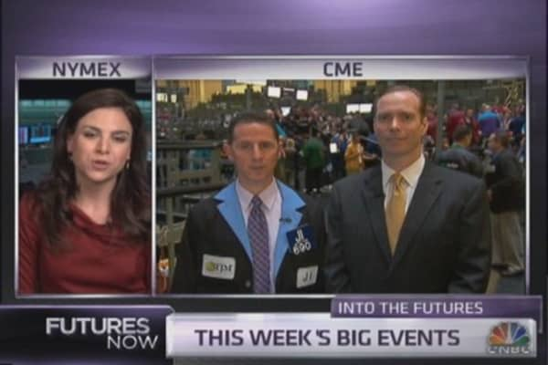 Into the futures: Last big earnings week