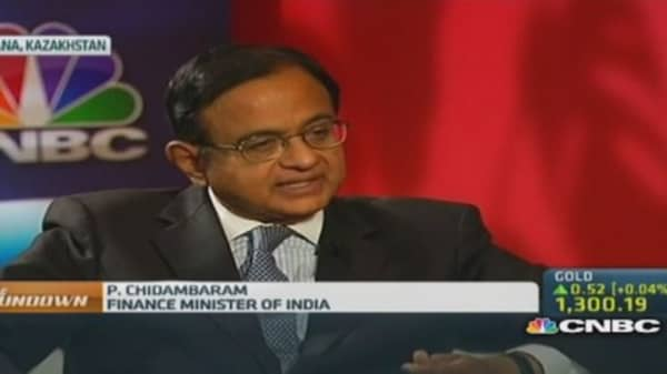 India Fin Min: Why 4.9% growth isn't too bad