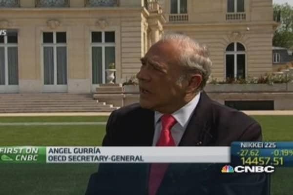 Ukraine crisis affecting confidence: OECD Chief