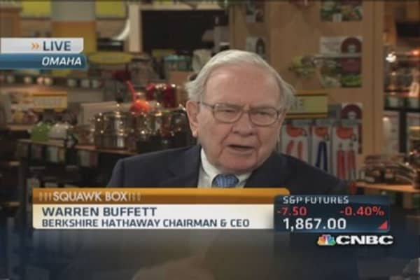 10-year not part of my strategy: Buffett