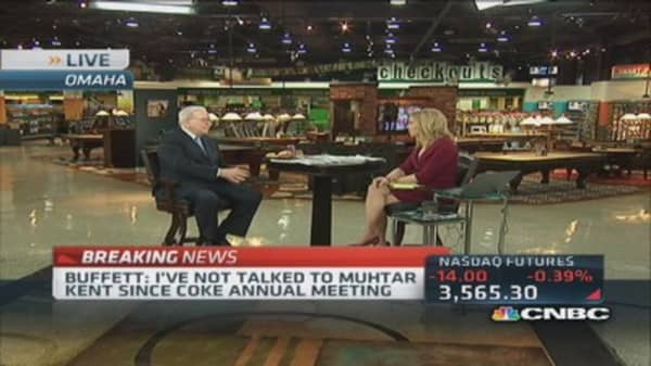 Buffett: Generally fighters not invited on boards