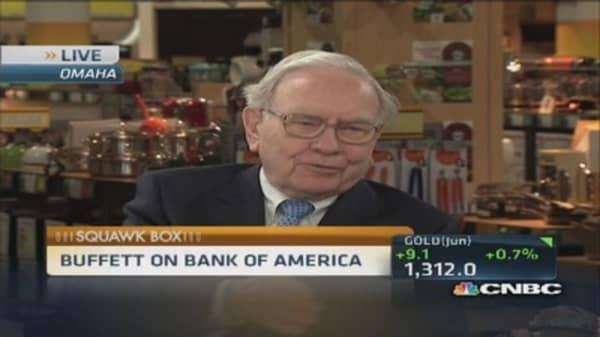 Buffett on BofA