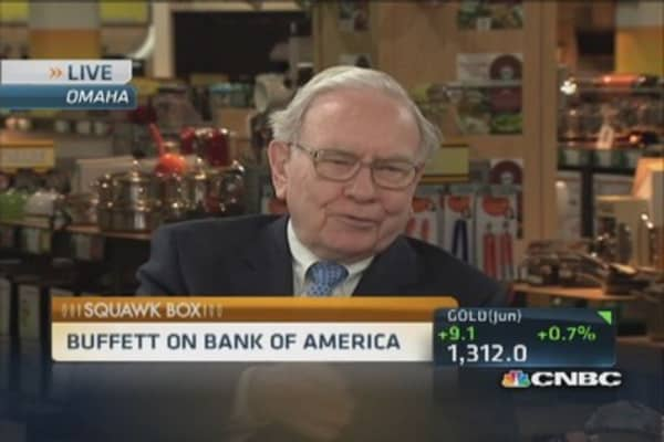 Buffett on BofA