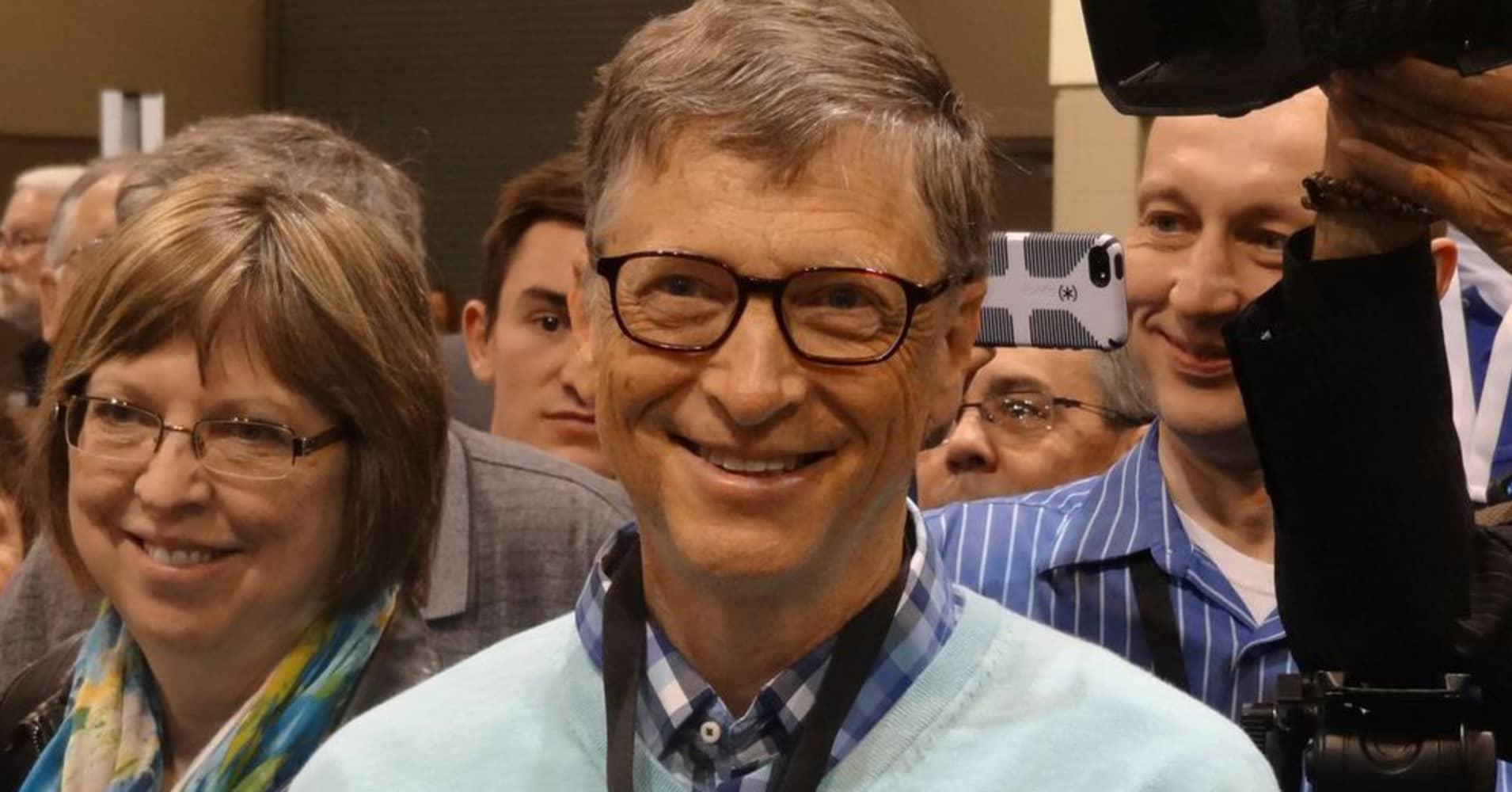 Bill Gates At The Berkshire Hathaway Annual Shareholder's Meeting In Omaha,  Nebraska