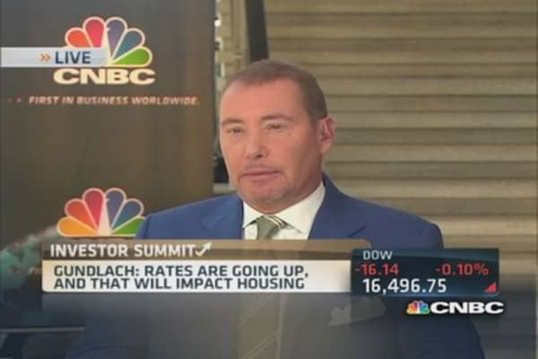 Gundlach's housing, GDP outlook