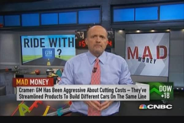 Be a buyer of GM: Cramer