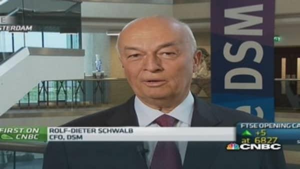 FX headwinds hit earnings: DSM CFO
