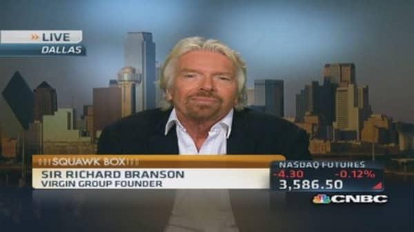 Branson's supersonic plans