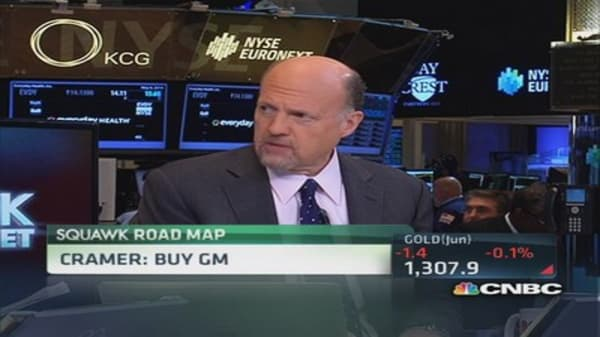Why Cramer is buying GM