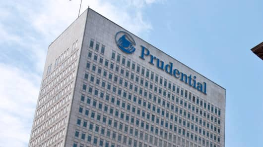 Prudential Financial Inc. in Newark, New Jersey.