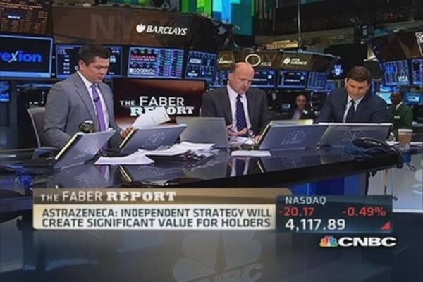 AstraZeneca continues to fight off Pfizer: Faber