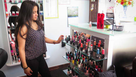 Controlling her own destiny: Patty Paredes, owner of Nails & Spa 4U