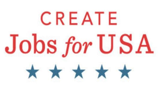 Create Jobs for USA logo