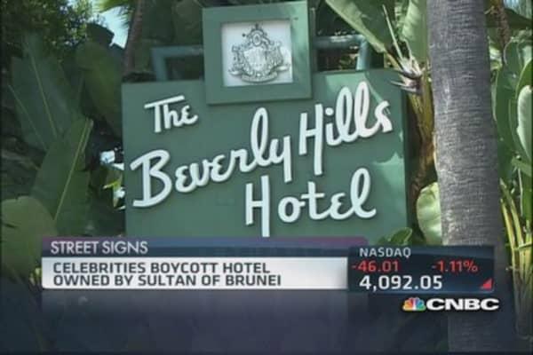Beverly Hills hotel boycott