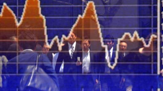 Premium Japan stock market