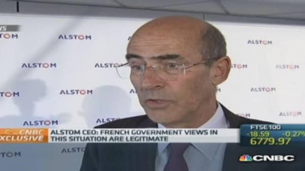 Alstom only has 'one offer on the table': CEO
