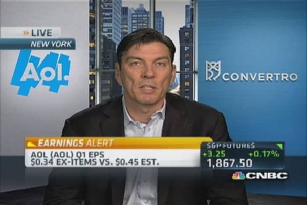 AOL leading Internet charge: CEO
