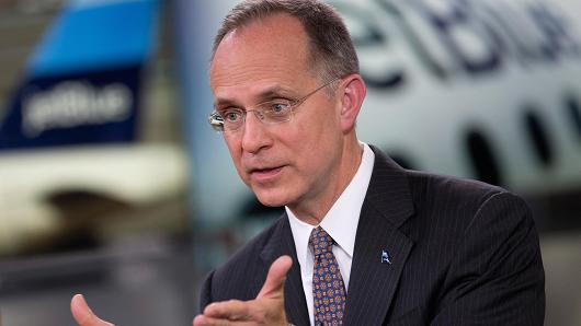 Dave Barger, chief executive officer of JetBlue Airways Corp.