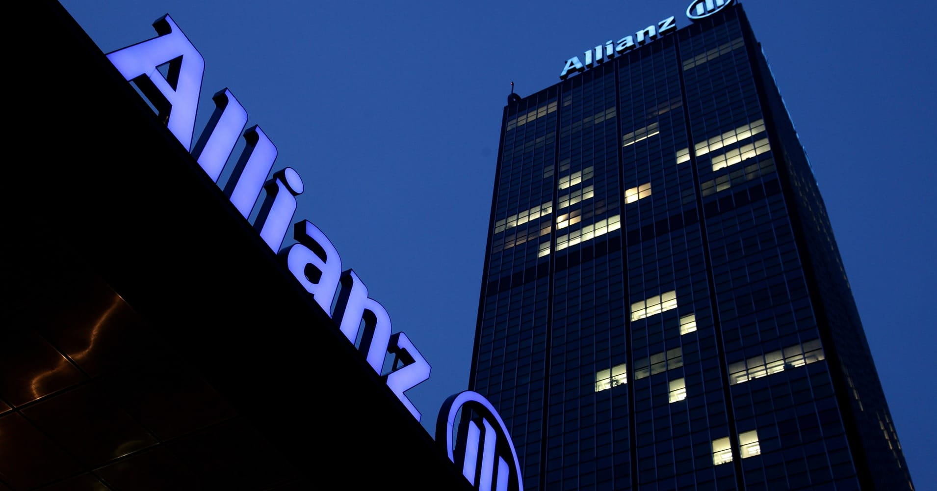 Allianz fourth-quarter net profit up 19 percent, in line with expectations