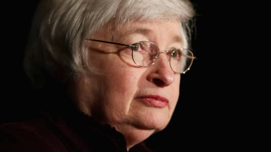 Federal Reserve Bank Chair Janet Yellen.