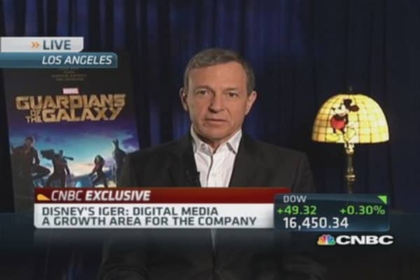 Disney's Iger: US consumer feels good