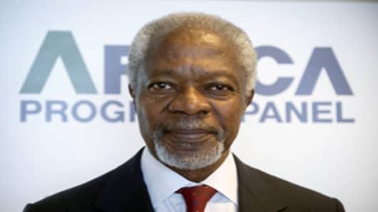 Mr Kofi Annan
