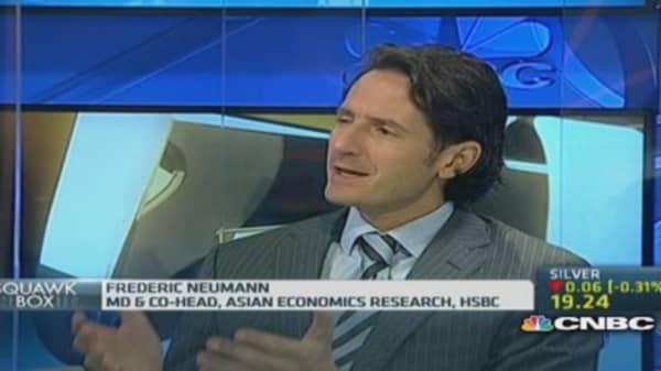 China may be losing competitivess: HSBC
