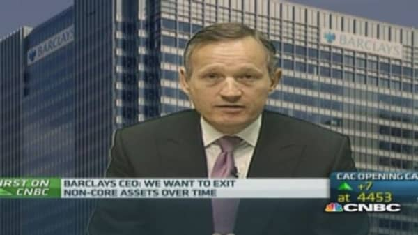 'Right time' to reposition investment bank: Barlcays CEO