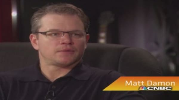 Matt Damon: I would love to play Bobby Kennedy
